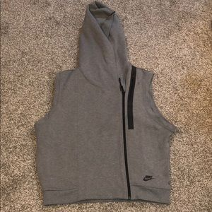 Gray Nike Tech Vest